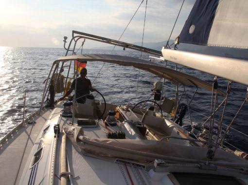 Aktiv segeln