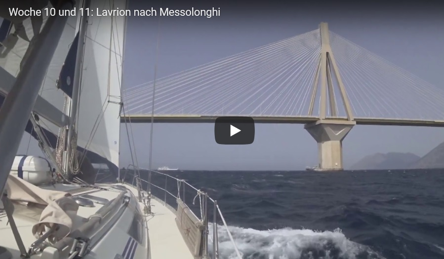 VIDEO : Woche 10 und 11: Lavrion nach Messolonghi
