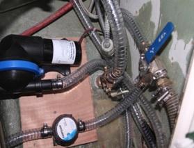 neue Pumpen und Schläuche