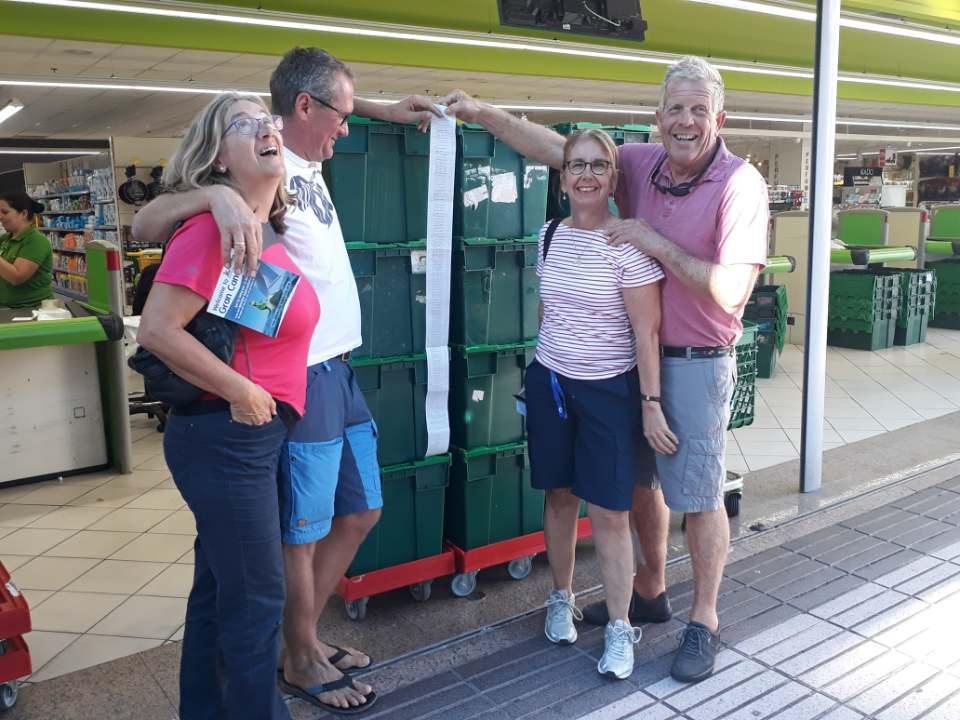 Petra und Jan, Katharina und Fredi